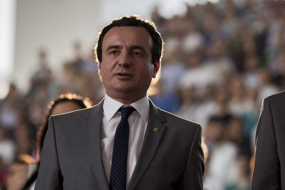 Курти подготвен за продолжување на дијалогот со Србија со посредство на ЕУ