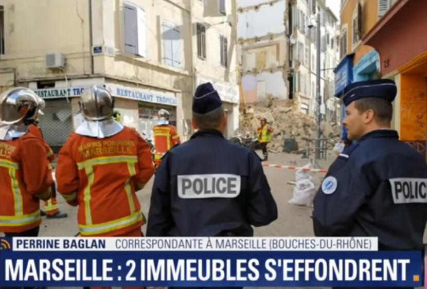 Извлечено уште едно тело од под урнатините во Марсеј