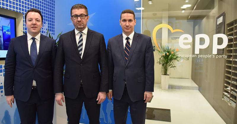 Мицкоски ќе учествува на Конгресот на ЕПП и на Самитот на лидери на ЕПП
