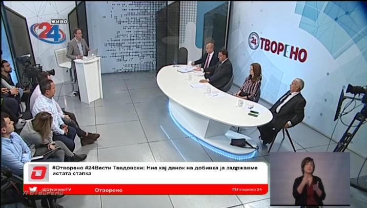 Славески: Владата со прогресивното оданочување удира по работните места