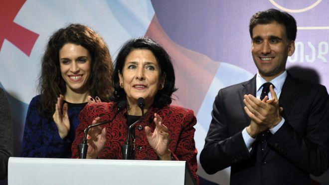 Саломе Зурабишвили победник на претседателските избори во Грузија