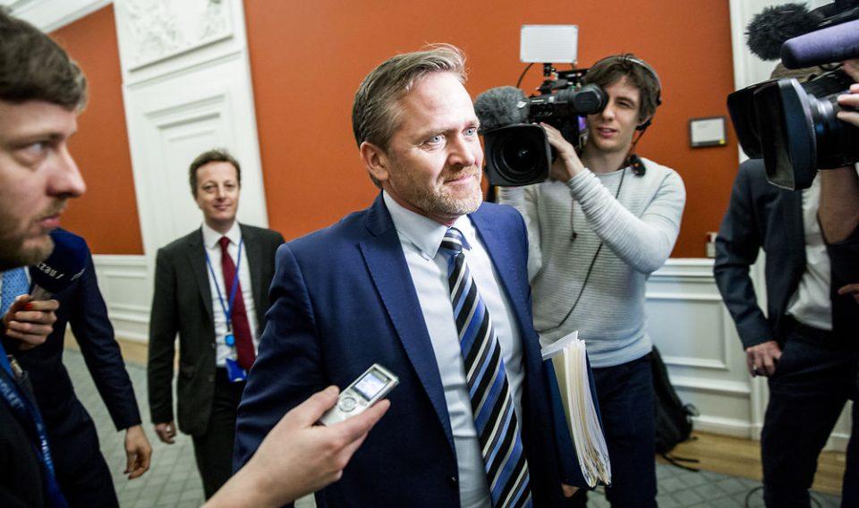 Данскиот министер за надворешни работи утре во Македонија