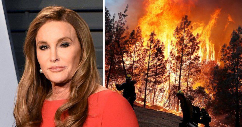Три милиони долари станаа пепел: Страшниот пожар ја проголта вилата на Кејтли Џенер, а од овој детаљ ќе занемете (ВИДЕО)