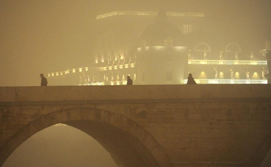 Скопјани повторно се гушеа и вчера – најзагадени Центар и Карпош