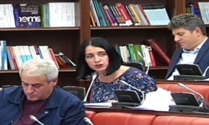 Митовска: Приоритет на оваа Влада е покривање на неморалното работење на институциите