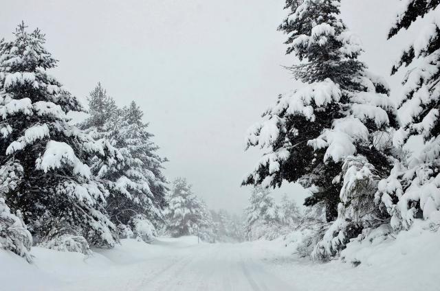 Најмногу снег на Шапка, најстудено во Паланка