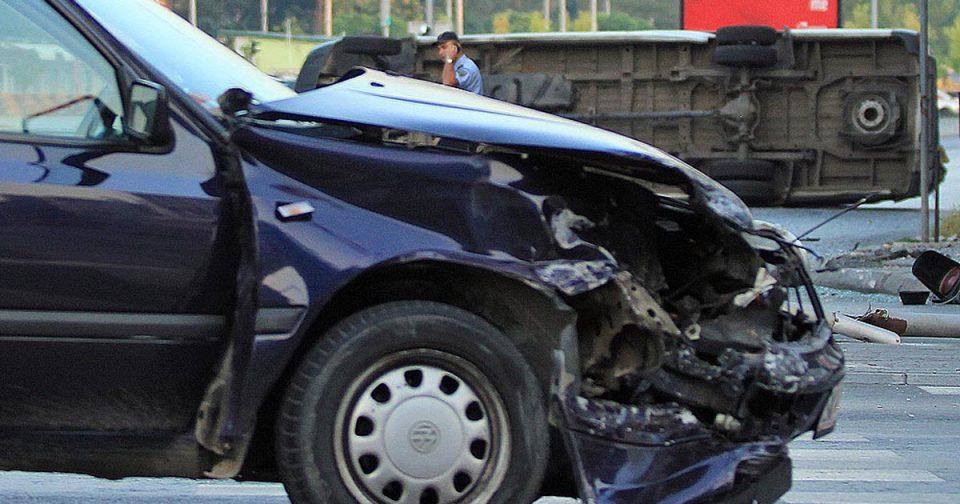 Повредена 32-годишна жена во сообраќајка во Скопје