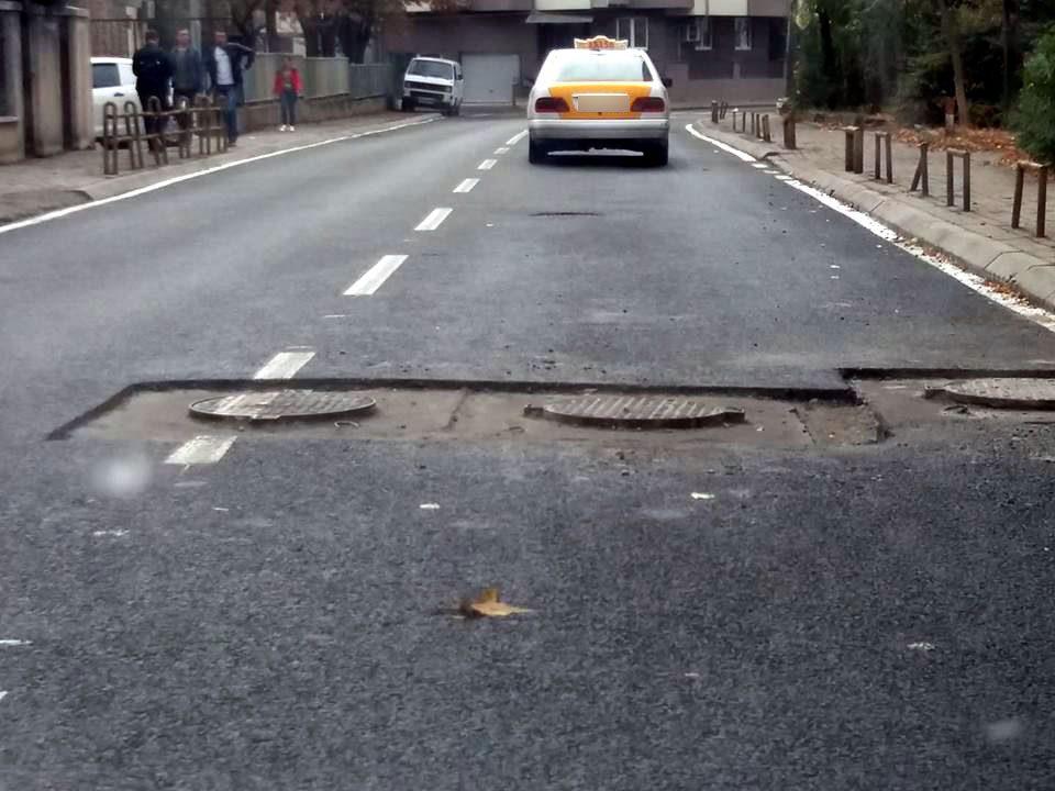 ФОТО: Реконструираната улица во Кисела Вода за која граѓаните платија 5 милиони денари траеше 10 дена, денес е повторно раскопана