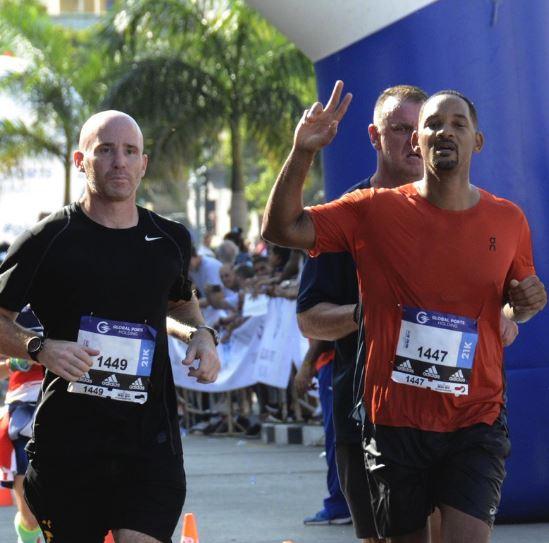 Вил Смит се приклучи на меѓународниот маратон во Хавана