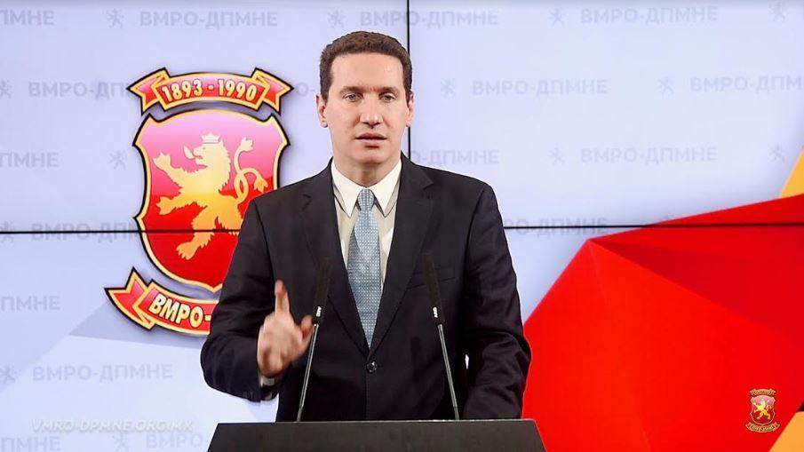 Ѓорчев објави видео: Госпоѓава е министерка, гледај Македонијо