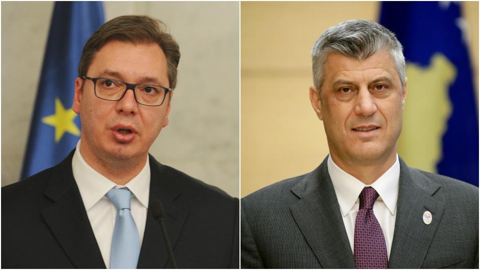 Вучиќ и Тачи во Брисел во потрага по компромис