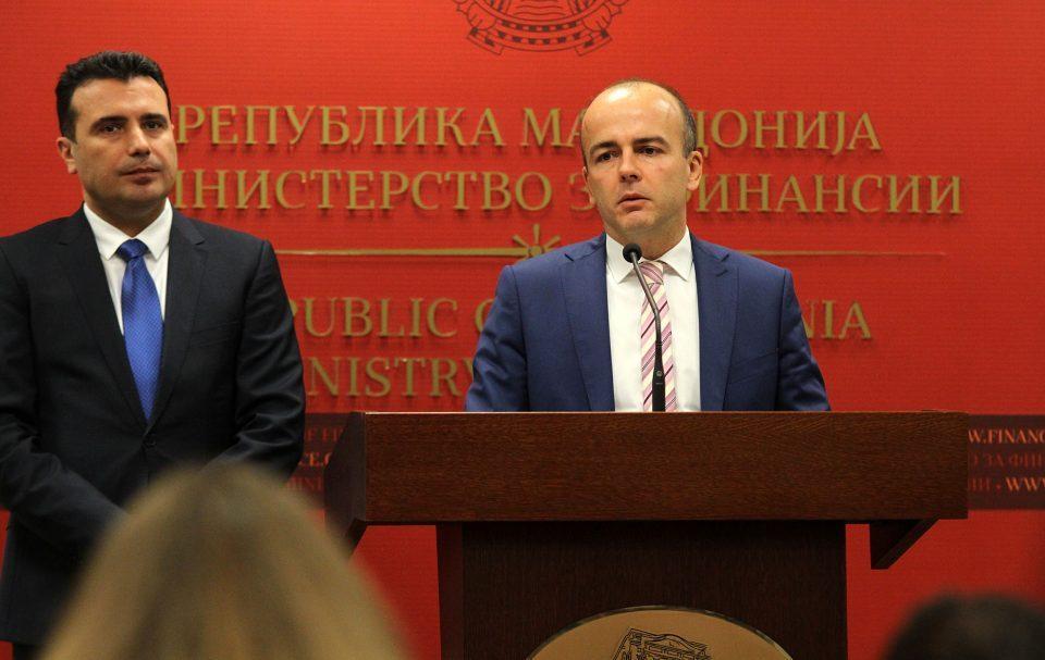 Банките почнуваат да делат дивиденди за да го избегнат зголемениот данок на Тевдовски