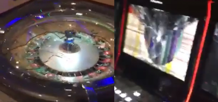 Охриѓанец дивеел во казино, нападнато и обезбедувањето