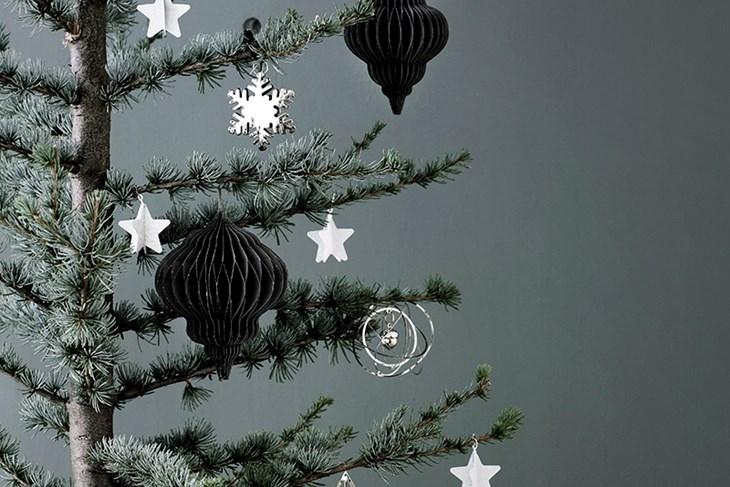 Нов скандинавски тренд – Тенки и витки новогодишни елки