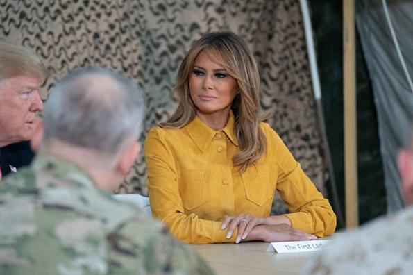 Меланија Трамп уште еднаш ги оставила модните критичари без здив: Вака треба да се облекува една прва дама! (ФОТО)