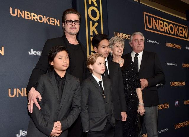По тврдењата дека Бред никогаш не го сакал, се огласи неговиот посвоен син