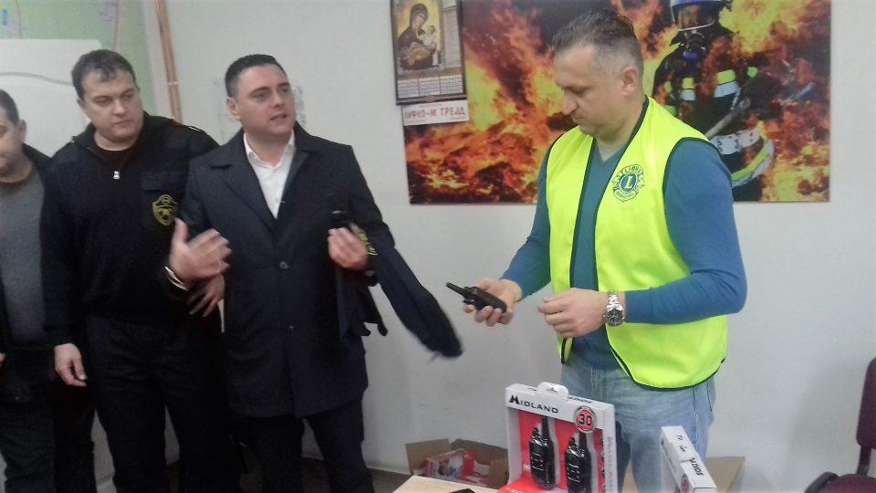 Донација за кавадаречките пожарникари