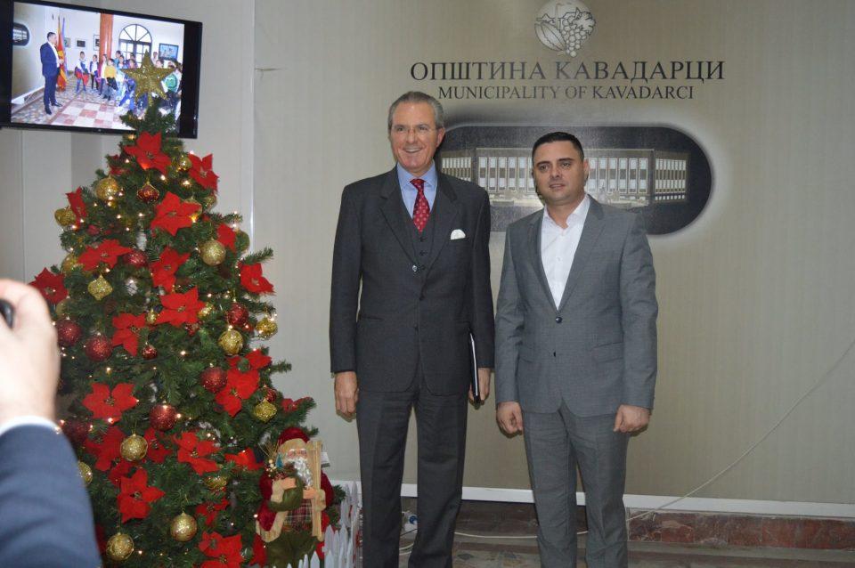 Јанчев се сретна со новиот шеф на Мисијата на ОБСЕ