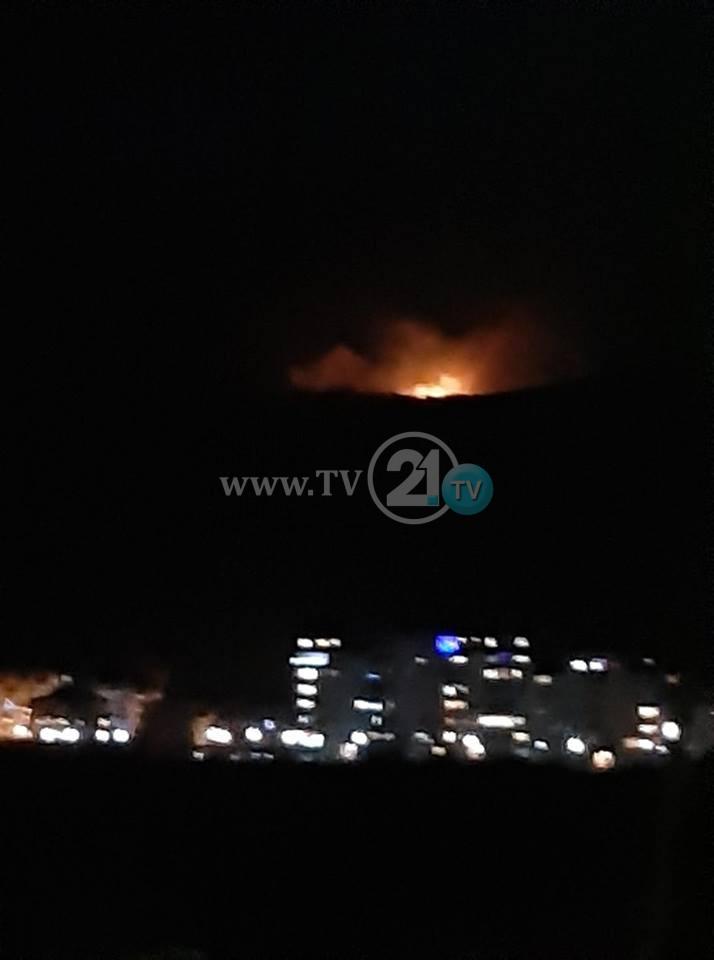 ФОТО: Пожар над Битола- пожарникарите интервенирале неколку пати, повторно се на терен