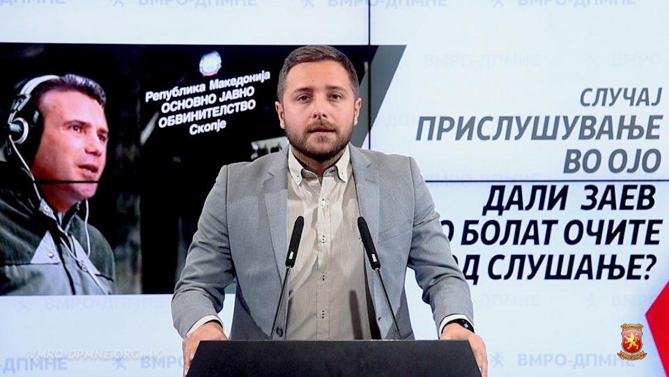 Арсовски: Заев со денови бега да одговори дали некој ќе сноси одговорност за прислушувањето на јавните обвинители