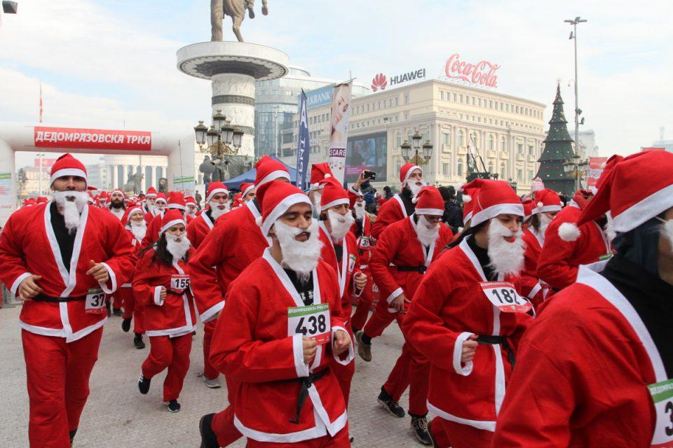 Дедомразовци традиционално ќе трчаат во Скопје