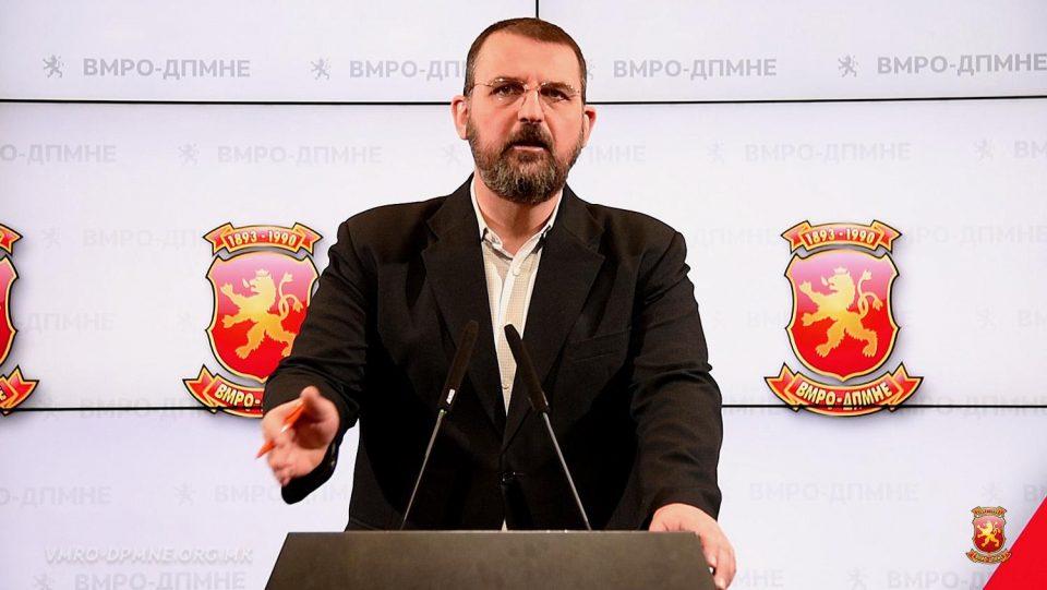 """""""СДСМ донесе црнила за граѓаните, Заев ја погази македонската економија, со намера да го држат општеството во заложништво"""""""