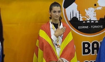 Анамарија Георгиевска е најуспешна млада спортистка на официјалниот избор за спортист на годината
