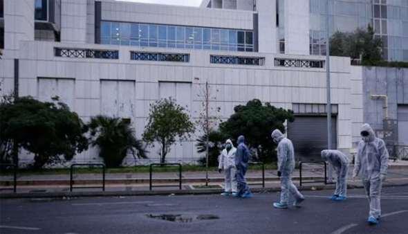 Дојави за бомби во Апелацискиот суд во Атина