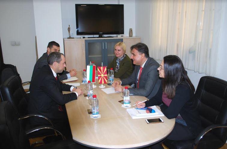 Соработка на Македонија и Бугарија во аудиовизуелната област
