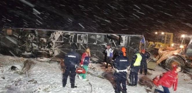 Се подготвува транспорт за повредените Македонци во сообраќајката кај Лесковац