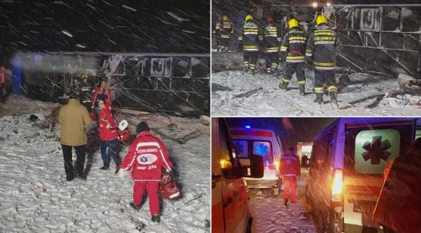 Најнови детали за страшната несреќа: 4 патници се во животна опасност, жртвите се од Кочани и крушевско