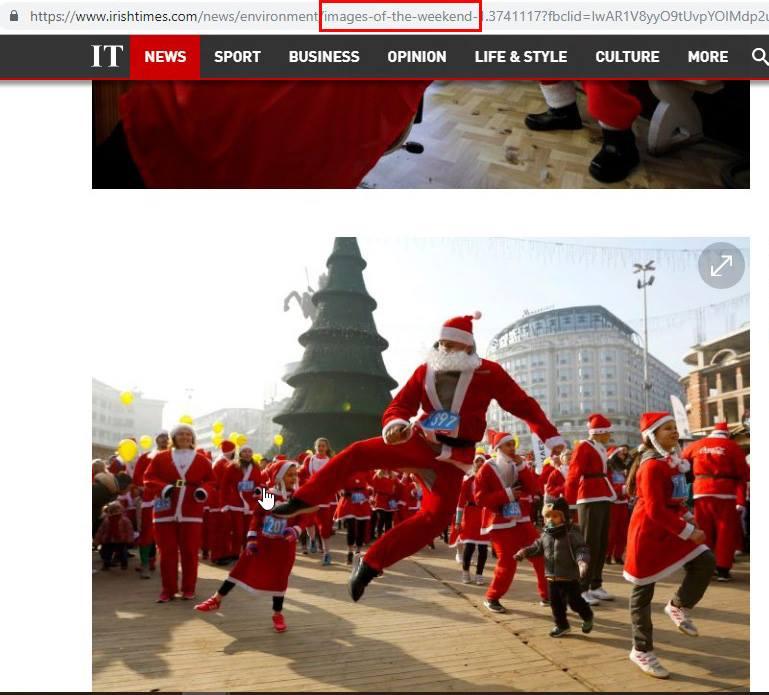 ФОТО НА НЕДЕЛАТА: Македонски Дедо Мраз на насловните страни на светски магазини