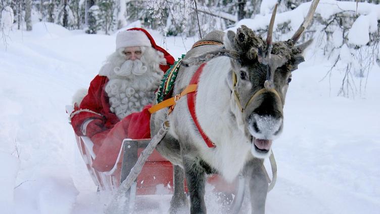 Дедо Мраз тргна од Лапонија