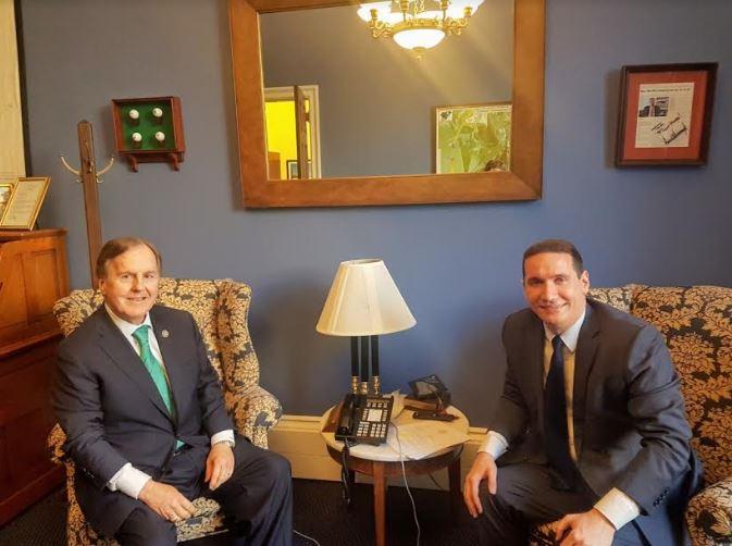 Ѓорчев во Вашингтон се сретна со конгресмените Питинџер и Хадсон