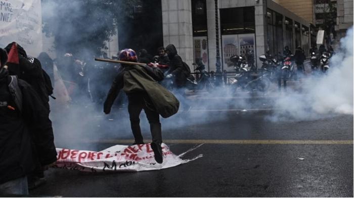 Инциденти на протестите во Солун и Атина