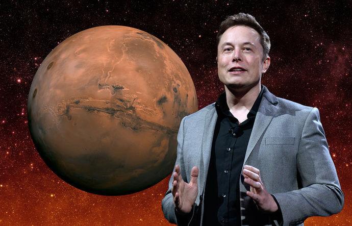 ФОТО+ВИДЕО: Како Елон Маск планира да го колонизира Марс?
