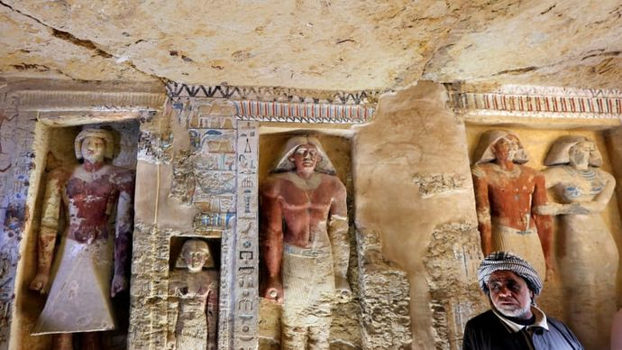 Ново откритие во Египет: Пронајдена уникатна гробница стара 4.400 години
