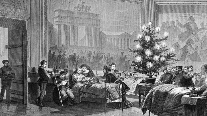 Историја на новодишната елка