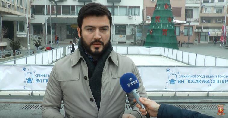Јорданов: Тендерската постапка за новото лизгалиште во Штип е отворена наредниот ден по неговото поставување