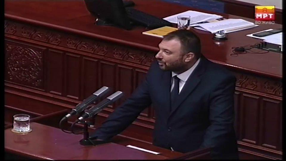 Иванов: Кога веќе има разрешување очекувавме да има и министер со ресор затоа што економијата е во слободен пад, здравството тоне, земјоделците разочарани