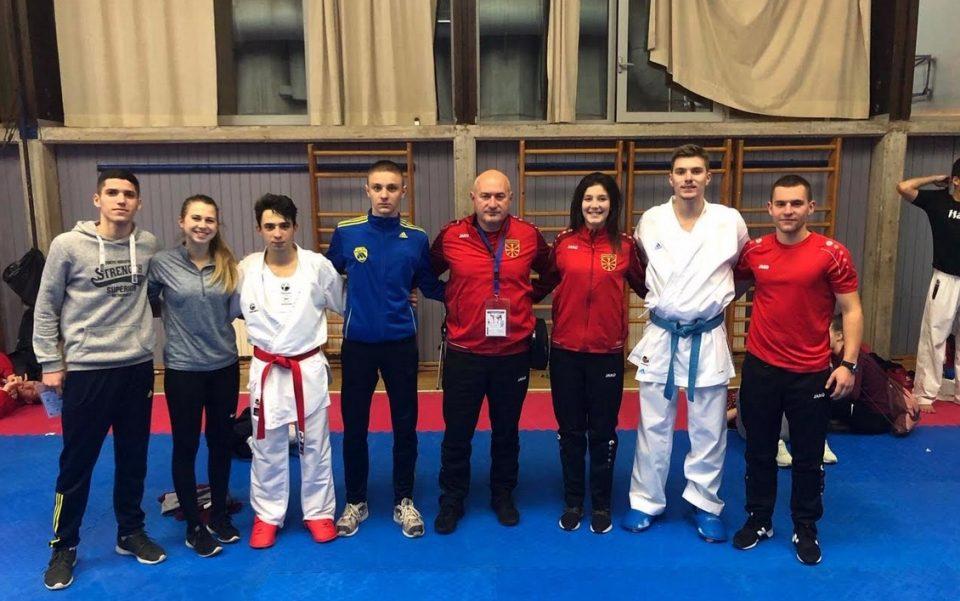 БРАВО: Два златни и еден бронзен медал за младите македонски каратисти од Балканското првенство во Дубровник