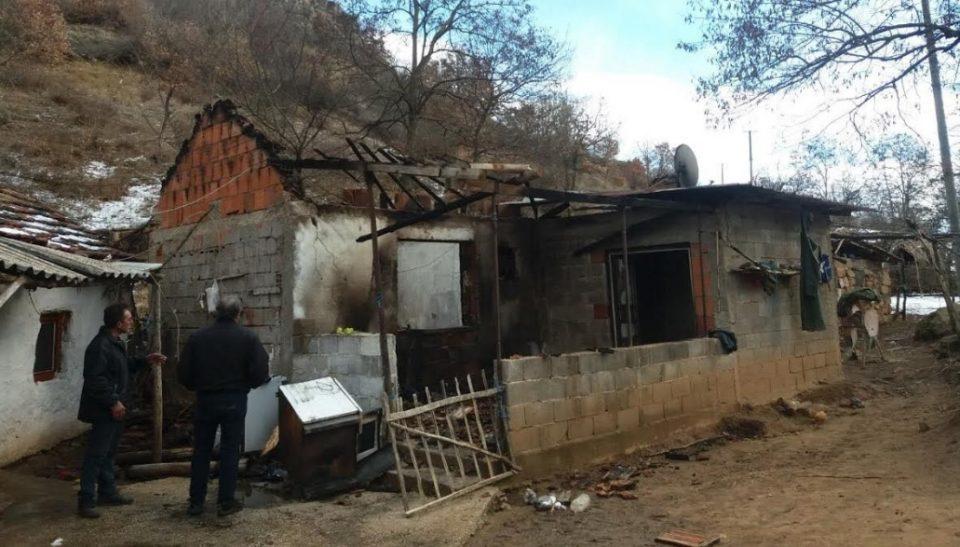 Трагедија: Петчлено семејство изгуби се што имаше, пожар им го пеплоса домот (ФОТО)