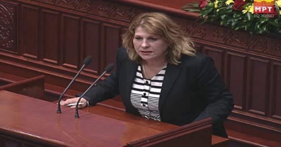 Лилјана Кузмановска: Додека СДСМ води погрешни политики, економијата забрзано тоне