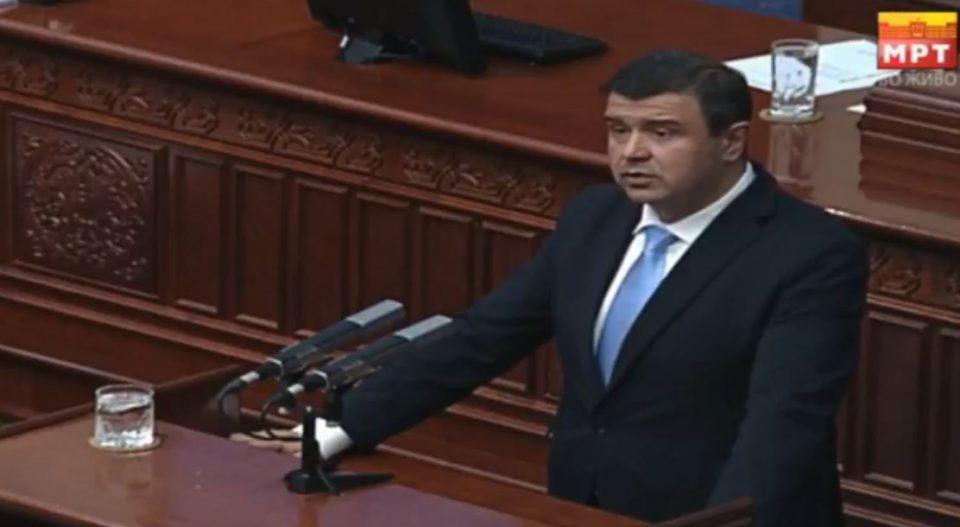 """Мицевски: На денешната собраниска седница требаше да слушнеме зошто се сменети министрите, а ние слушнавме како """"блеска"""" оваа Влада"""