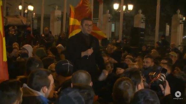 Мицкоски: Борбата започна и нема запирање додека не ги поразиме, првата победа ќе бидат претседателските избори
