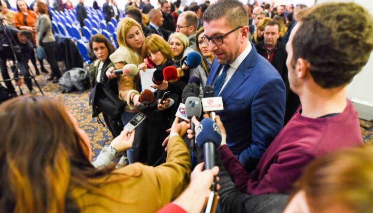 Мицкоски: Досега не сум имал комуникација, ниту пак имам сознанија дека некој од партијата се сретнал со Груевски