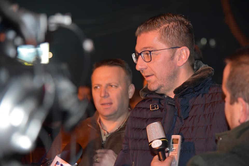 Мицкоски: Ние сме искрата која ќе ја донесе зората, заедно со народот ќе ги победиме овие црнила