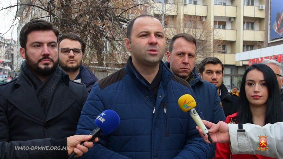 Мисајловски:Во Штип ветуваа нови градинки, ветуваа спортски сали, ветуваа многу работи за сите, но владата на СДСМ е само едно  црнило