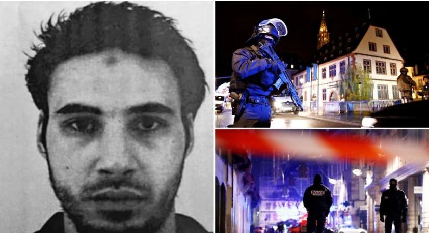 Ранет е, но сепак ѝ побегна на полицијата: Ова е напаѓачот од Стразбур