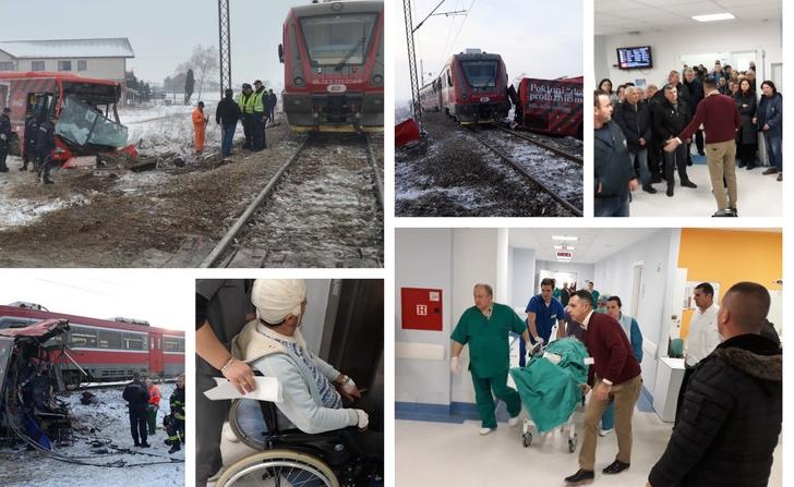 Пет мртви, деца се борат за живот: Родителите скршени од болка во болницата во Ниш по ужасната сообраќајка